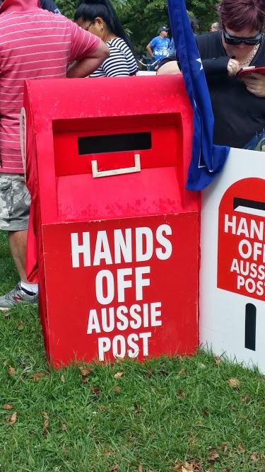 hands off aus post